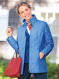 Diamond Quilted Jacket by Appleseed's