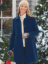 Larry Levine Updated Wool Coat