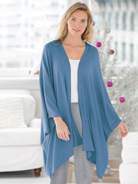 Go With The Flow Rib Knit Kimono