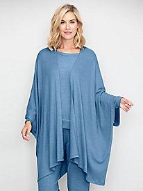Go With The Flow Rib Knit Kimono