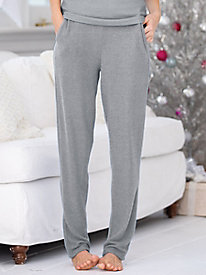 Go With The Flow Solid Knit Pants