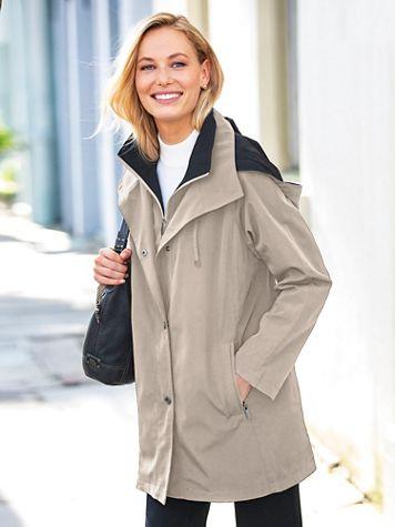 Fleet Street Three-Season Raincoat - Image 1 of 6