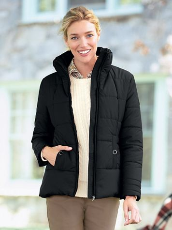 Weatherproof Puffer Coat