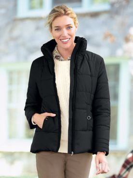Weatherproof Puffer Coat
