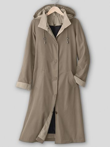 Long 3-Season Raincoat - Image 1 of 5