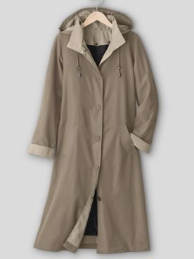 Long 3-Season Raincoat