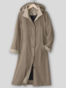 Long 3-Season Raincoat