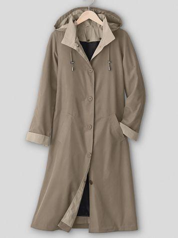 Long 3-Season Raincoat - Image 2 of 2