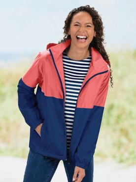 Color-Block Windbreaker