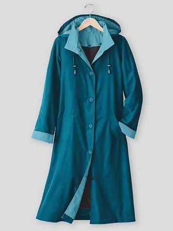 Long 3 Season Raincoat - Image 1 of 5
