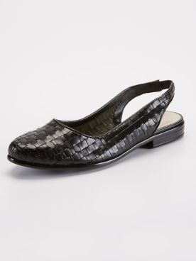 Trotters Lucy Woven Slingback