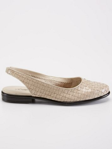 Trotters Lucy Woven Slingback - Image 1 of 1