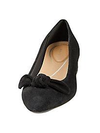 Easy Spirit Calasee Bow Flat Shoe