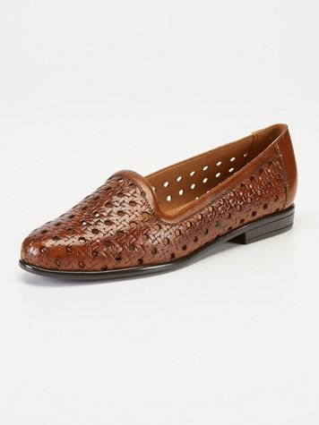Liz Open Weave Slip-Ons by Trotters - Image 1 of 5