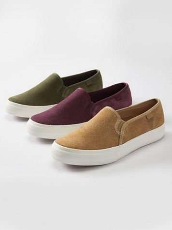 Keds Suede Slip-On Sneaker - Image 1 of 10