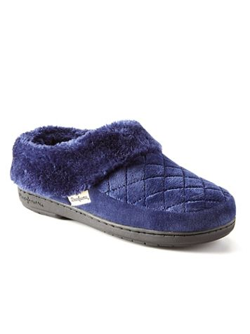 Dearfoams Quilted Velour Clog