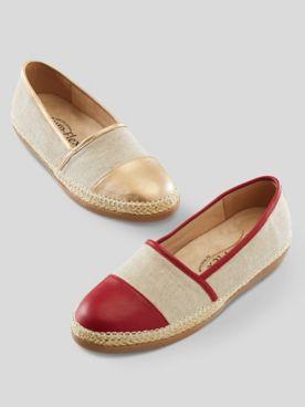 Beacon Amalfi Espadrille Slip-On Shoes