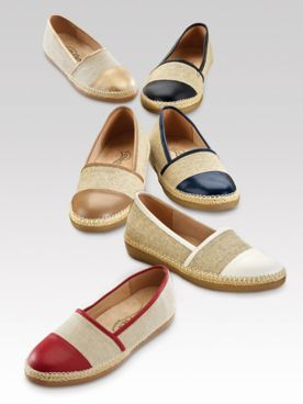 Beacon Amalfi Espadrille Slip-On Shoes