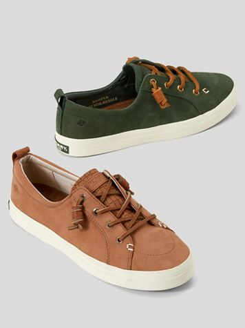 Sperry Leather Crest Sneaker - Image 1 of 3