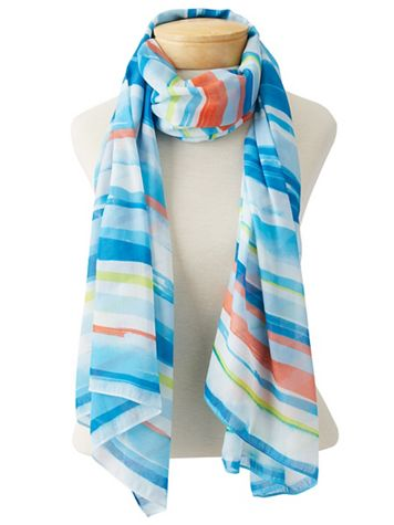 Waterstripes Scarf - Image 1 of 3