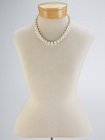 1930s Costume Jewelry Classic Pearl Neckalce $29.99 AT vintagedancer.com