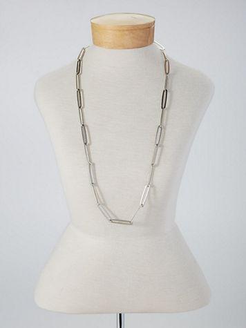 Modern Link Necklace - Image 1 of 3