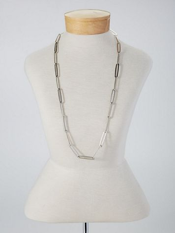 Modern Link Necklace - Image 4 of 4