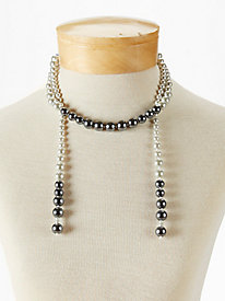 Obre Pearl Tassel Necklace