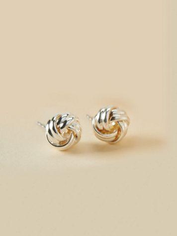 Knot Earrings - Image 1 of 2