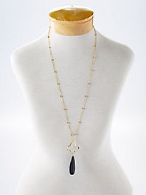 Clover Drop Necklace