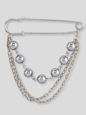 Pearl & Chain Pin