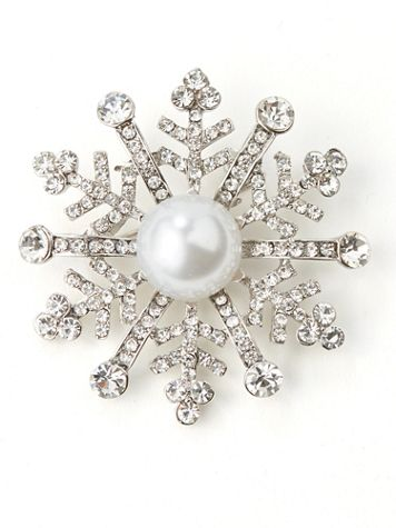 Snowflake Pin - Image 3 of 3