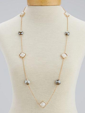 Natural Elements Long Tile Necklace - Image 3 of 3