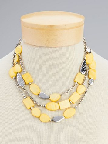 Spring Fling Multi-Strand Necklace - Image 2 of 2