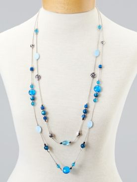 Colors-Of-The-Sea Necklace