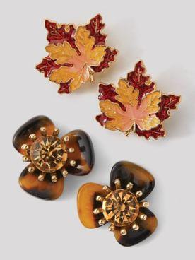 Autumn Charm Earrings