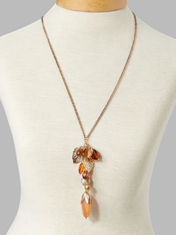 Falling Leaves Long Necklace - Image 3 of 3