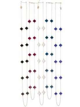 Long Tile Necklace