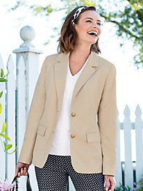 Microfiber Travel Blazer