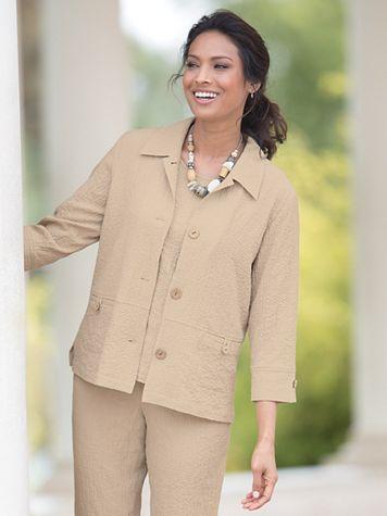 Sienna Back-Button Jacket