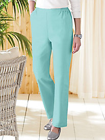 Stretch Twill Pull-On Pants