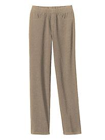 Knit-Denim Slim Jeans