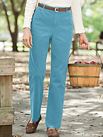 Stretch Pincord 5-Pocket Pants