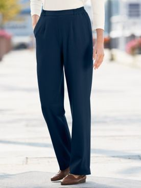 Bi-Stretch Pull-On Pants