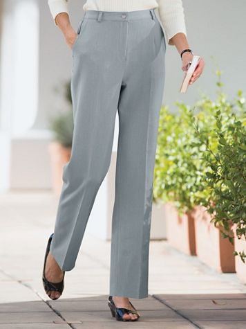 Stretch Fly-Front Pants - Image 1 of 7