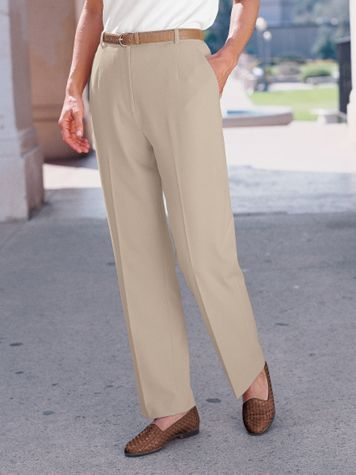 Stretch Fly-Front Pants - Image 1 of 2