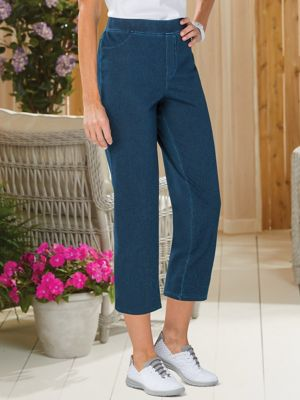 37af7c5d499698 Everyday Knit Essentials Straight-Leg Pants | Women's Pants | Appleseeds