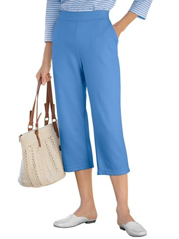 Everyday Knit Capris - Image 1 of 5