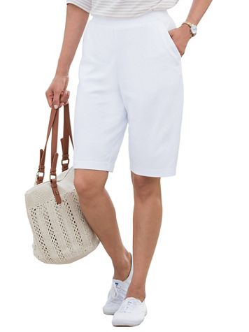 Everyday Knit Pull-On Shorts - Image 1 of 8