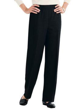 Washable Gabardine Pull-On Pants